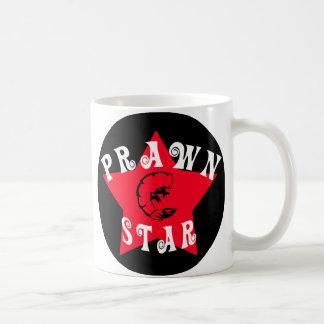 左利きの車海老の星 コーヒーマグカップ