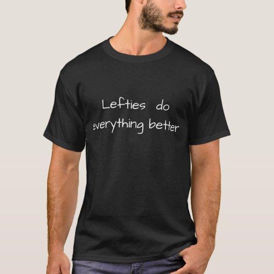 左利き Tシャツ