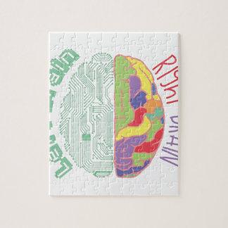 左及び右脳 ジグソーパズル