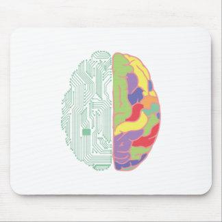 左及び右脳 マウスパッド