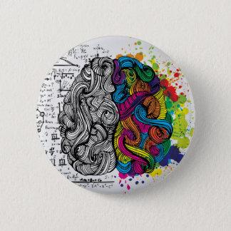 左右の頭脳 缶バッジ