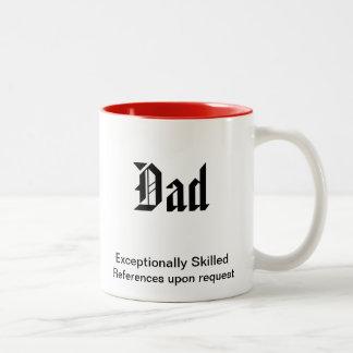 巧みなパパ特別に ツートーンマグカップ