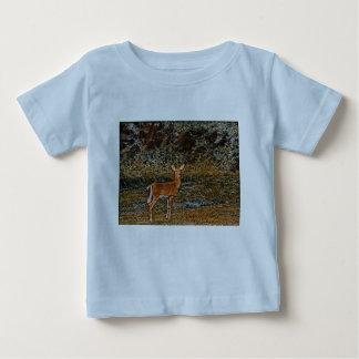 巧妙なシカ ベビーTシャツ