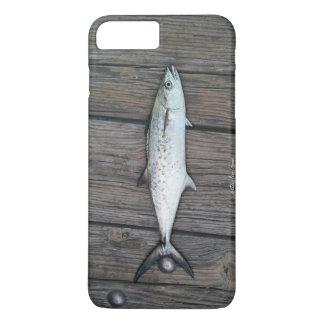 巧妙な漁師の素朴な木製の魚 iPhone 8 PLUS/7 PLUSケース
