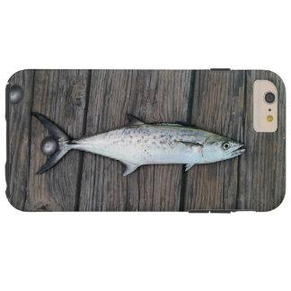 巧妙な漁師の素朴な木製の魚 TOUGH iPhone 6 PLUS ケース