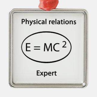 巧妙な物理的な関係 メタルオーナメント
