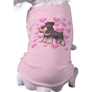 巨人または標準的でかミニチュア・シュナウツァー愛 ペット服