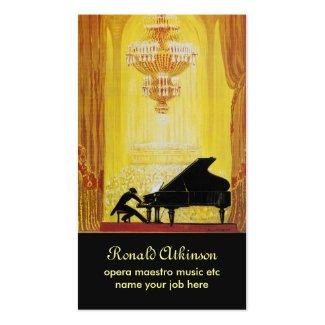 巨匠オペラ音楽古典的な名刺