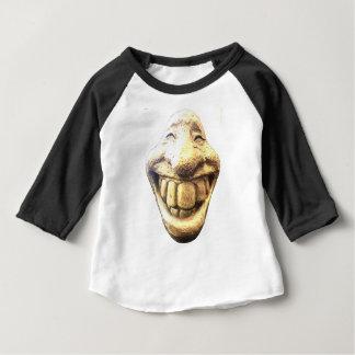 巨大で幸せな顔 ベビーTシャツ