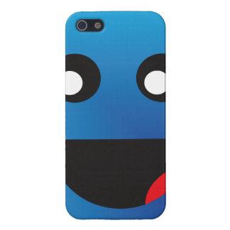 巨大で幸せな顔 iPhone SE/5/5sケース