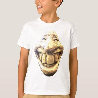 巨大で幸せな顔 Tシャツ