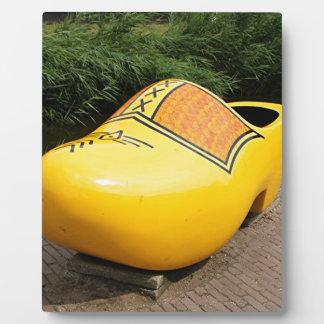 巨大で黄色い障害物、オランダ フォトプラーク
