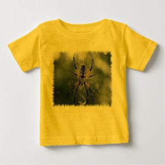 巨大なくも/黄色及び黒のArgiope ベビーTシャツ