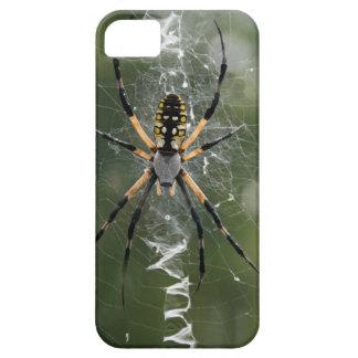 巨大なくも/黄色及び黒のArgiope iPhone SE/5/5s ケース