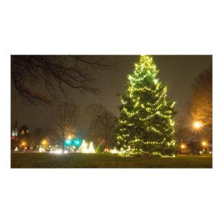 巨大なクリスマスツリー、Worthington、オハイオ州 フォトプリント