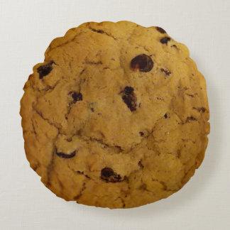 巨大なチョコチップクッキー ラウンドクッション