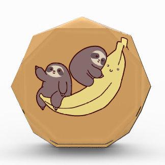 巨大なバナナの怠惰 表彰盾