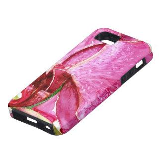 巨大なピンクの蘭 Case-Mate iPhone 5 ケース