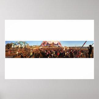 巨大なブームのフェスティバル2004年- ポスター