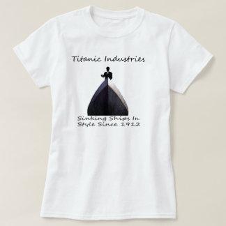 巨大な企業 Tシャツ