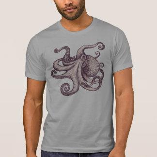 巨大な太平洋のタコインクスケッチ Tシャツ