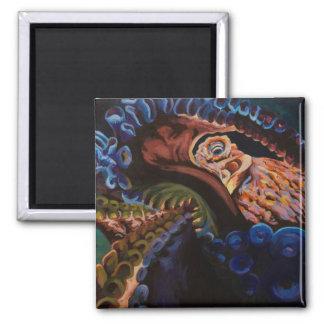 巨大な太平洋のタコ マグネット