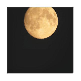 巨大な月のプリント キャンバスプリント