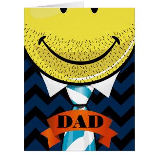 巨大な父の日のすばらしい仕事のカスタムで大きいカード カード