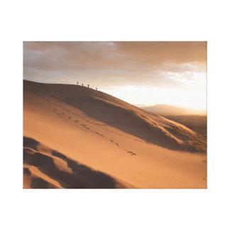 巨大な砂丘 キャンバスプリント