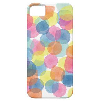 巨大な紙吹雪数々のな色の電話箱 iPhone 5 Case-Mate ケース