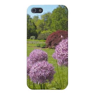 巨大な紫色の葱類のiphone 4ケース iPhone 5 cover
