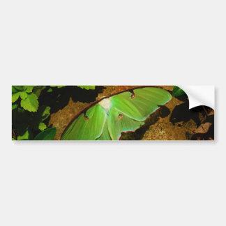 巨大な緑のルナガ バンパーステッカー