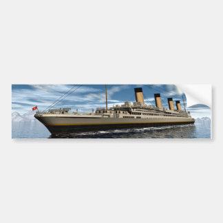 巨大な船 バンパーステッカー