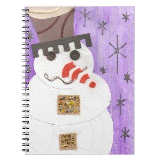 巨大な雪だるまのノート ノートブック