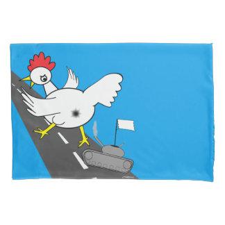 巨大な鶏! 枕カバー