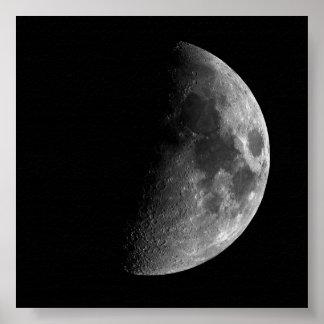 「巨大な」半月のプリント ポスター