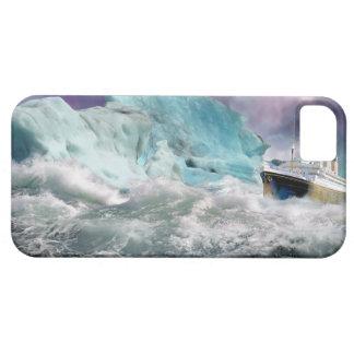 巨大なRMSおよび氷山の絵画 iPhone 5 ベアリーゼアケース
