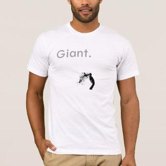 巨大なSilhouette_by_Goekhans。 -カスタマイズ Tシャツ