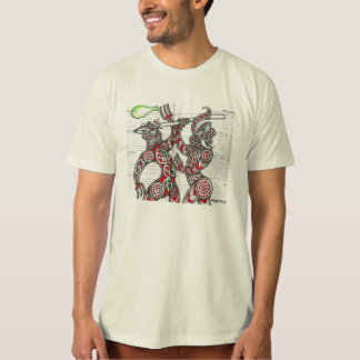 巨大なTaniwha Tシャツ