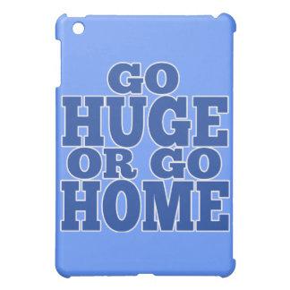 巨大に行きますか、または家に青く手紙は行きます iPad MINI CASE