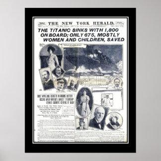 巨大の沈降のニュース巨大なシリーズの ポスター