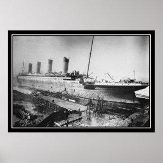 巨大の1909年組み立てられる ポスター