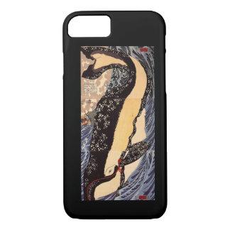 巨鯨、国芳の大きいクジラ、Kuniyoshi、Ukiyo-e iPhone 8/7ケース