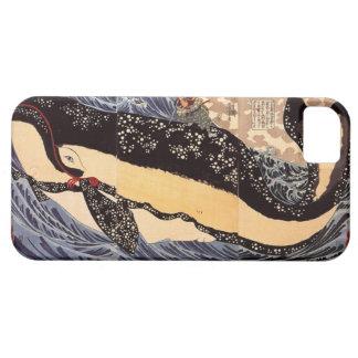 巨鯨、国芳の大きいクジラ、Kuniyoshi、Ukiyo-e iPhone SE/5/5s ケース