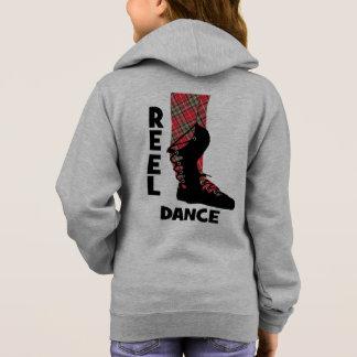 巻き枠のダンスのテーマスコットランドのカントリー・ダンス パーカ