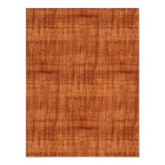 巻き毛のアカシアの木製の穀物の一見 マグネットカード