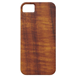巻き毛のハワイアンのKoaの木製のスタイル iPhone SE/5/5s ケース