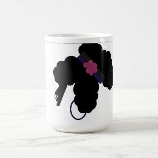 巻き毛のポニーテール コーヒーマグカップ