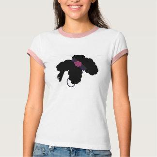 巻き毛のポニーテール Tシャツ
