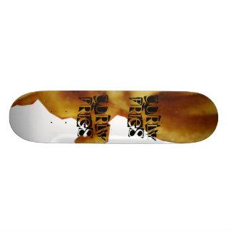 巻き毛の揚げ物板 20.6CM スケートボードデッキ